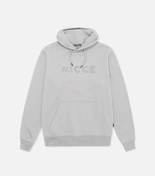 Nicce Mens Mercury Hood | Stone Grey, Hoodies