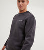 NICCE Mens Original Chest Logo Sweatshirt | Coal, Sweatshirts