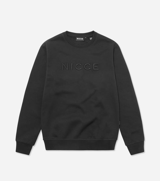 NICCE Mens Mercury Sweat | Black, Sweatshirts