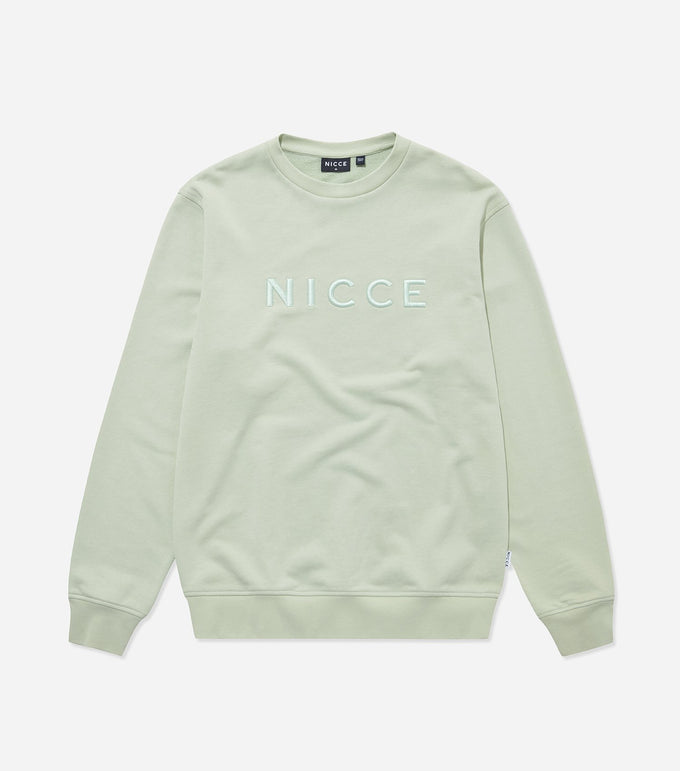 NICCE Mens Lithium Sweat | Mint, Sweatshirts