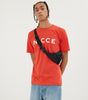 Nicce Mens Original Logo T-Shirt | Aurora Red, T-SHIRT SHORT SLEEVED