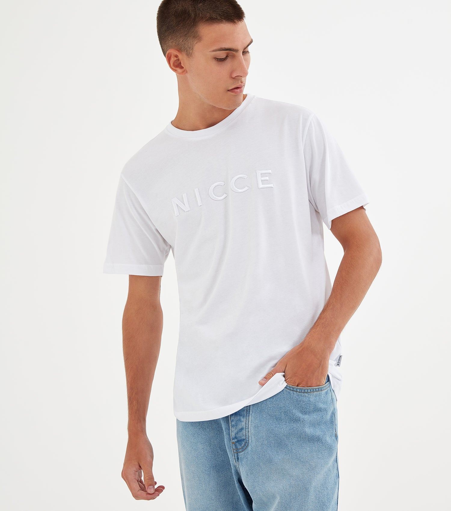 NICCE Mens Mercury T-Shirt | White, T-Shirts