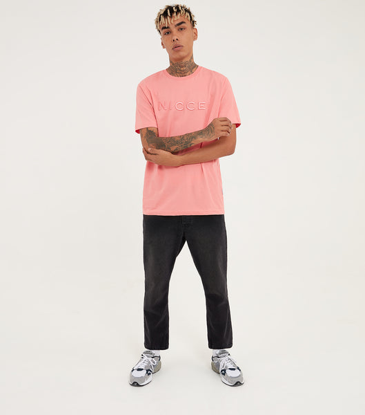 Nicce Mens Mercury T-Shirt | Rose