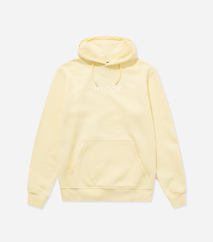 NICCE Womens Centre Logo Hood | Pastel Yellow