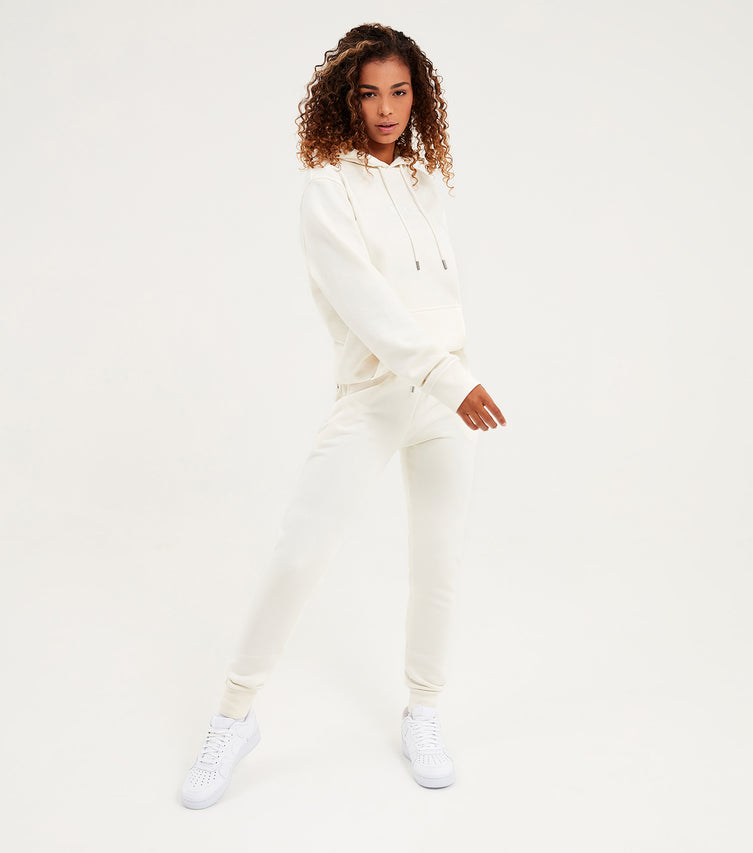 Nicce Womens Original Logo Joggers | Cream