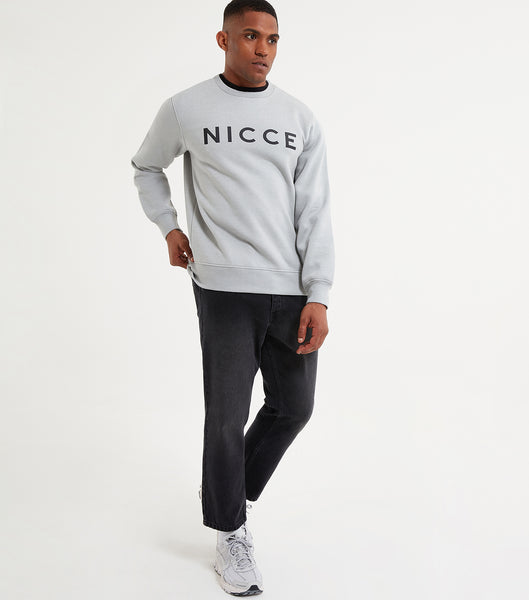 NICCE Mens Original Sweat | Stone Grey, Sweatshirts