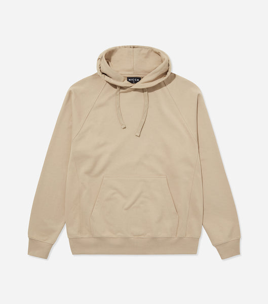 Nicce Mens Essentials Hood | Taupe