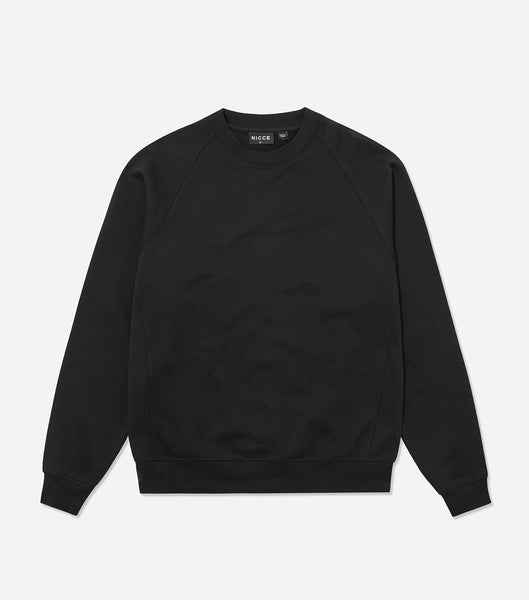 Nicce Mens Essentials Sweat | Black