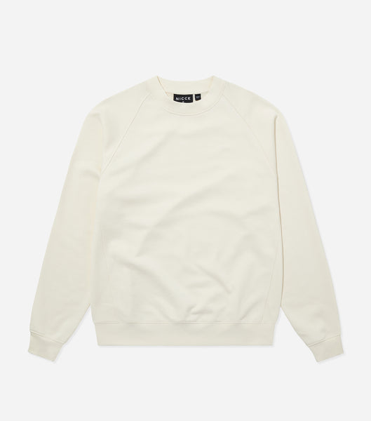 Nicce Mens Essentials Sweat | Ecru