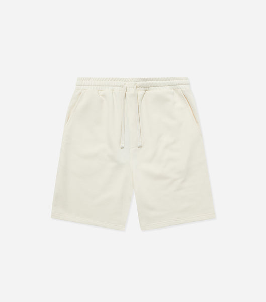 Nicce Mens Essentials Shorts | Ecru