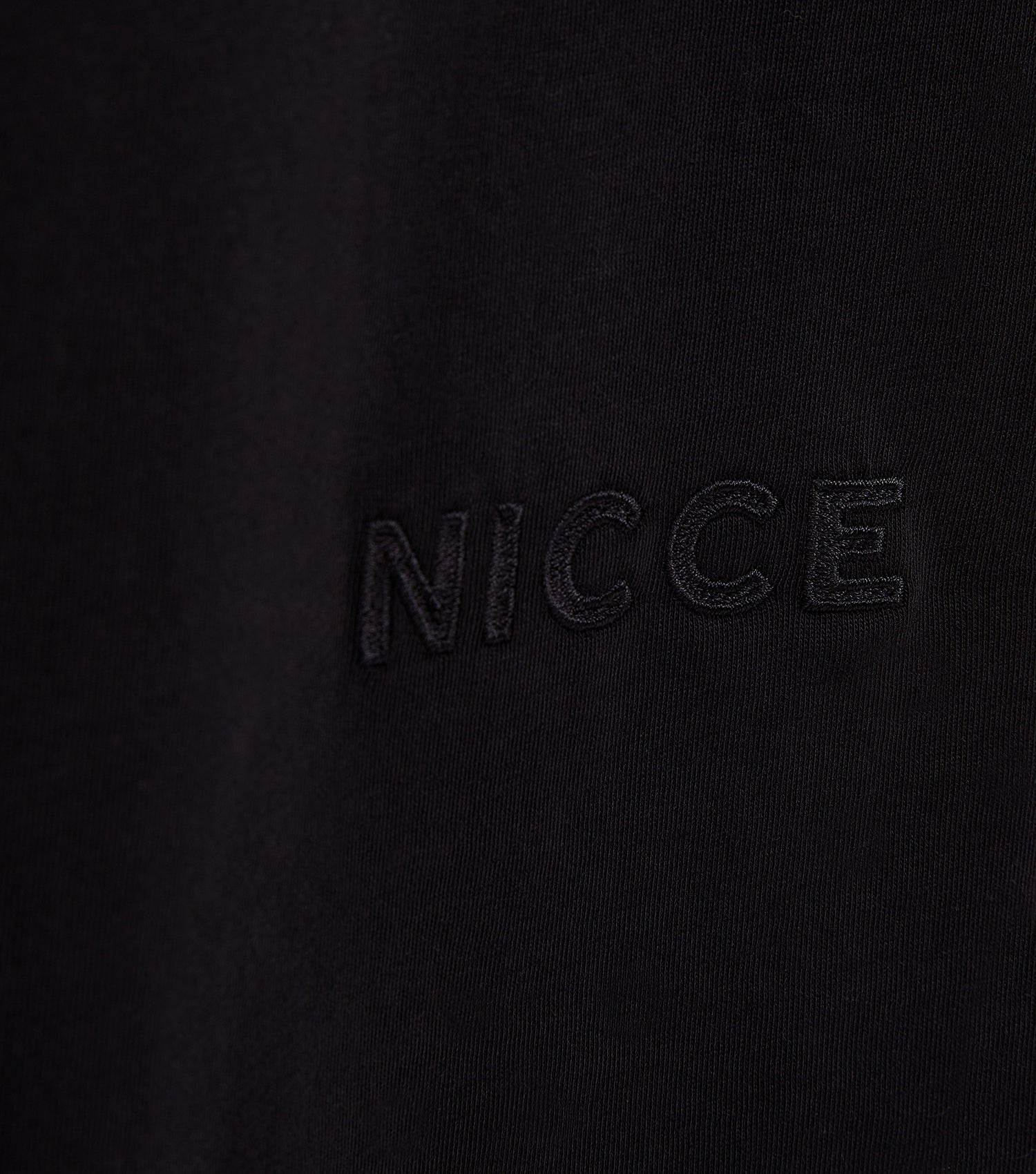 Nicce Mens Essentials LS T-Shirt | Black