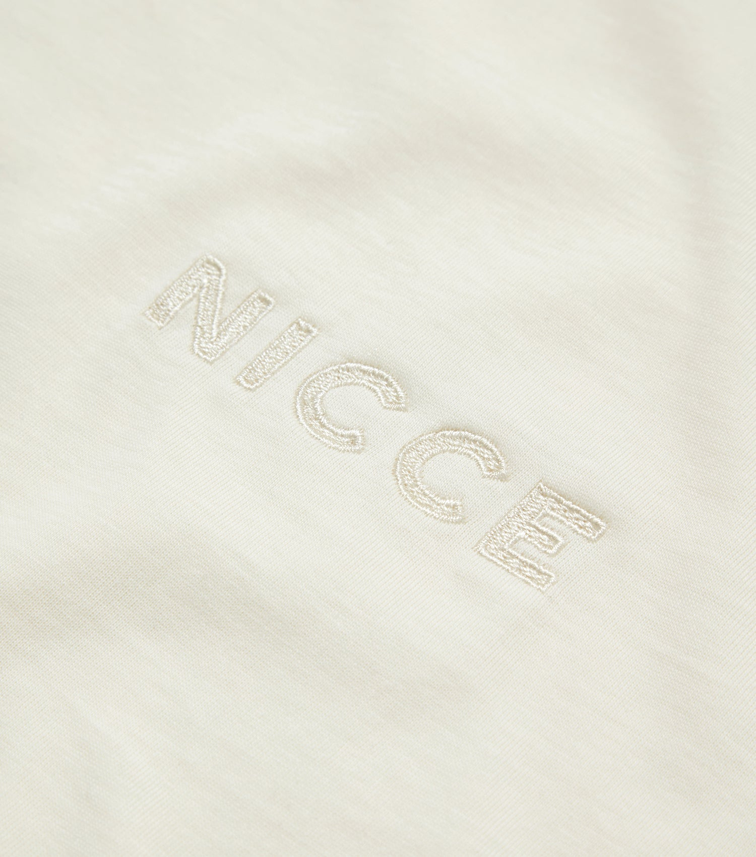Nicce Mens Essentials T-Shirt I Ecru