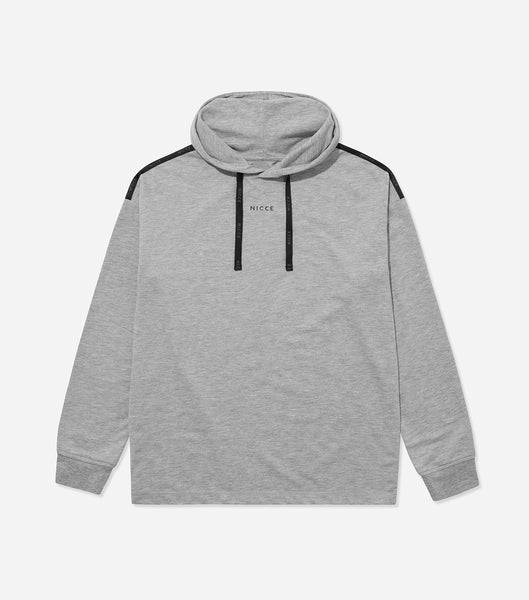 Nicce Mens Couch Hood I Mid Grey Marl