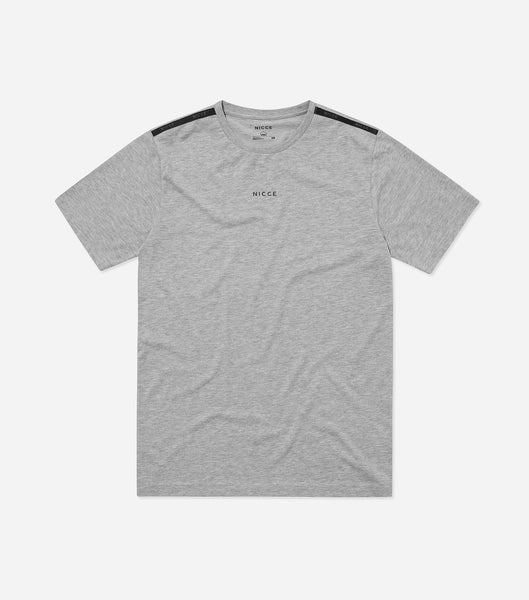 Nicce Mens Sofa T-Shirt I Mid Grey Marl