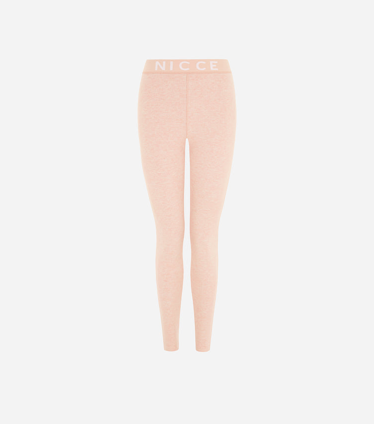 Nicce Womens Lull Leggings | Dusty Pink Marl