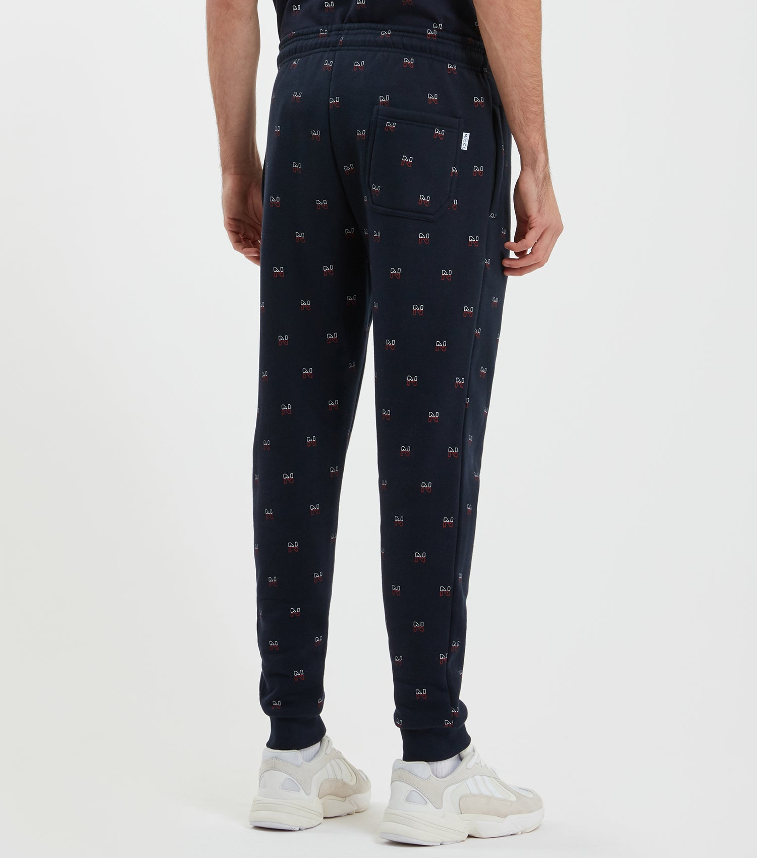 ... All over joggers in navy. Featuring elasticated waistband c741ad9878a