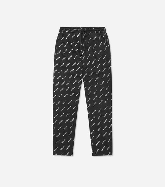 NICCE Mens All Over Print Jogger | Black, Joggers