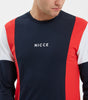 NICCE Mens Homewood Long Sleeve T-Shirt | Navy