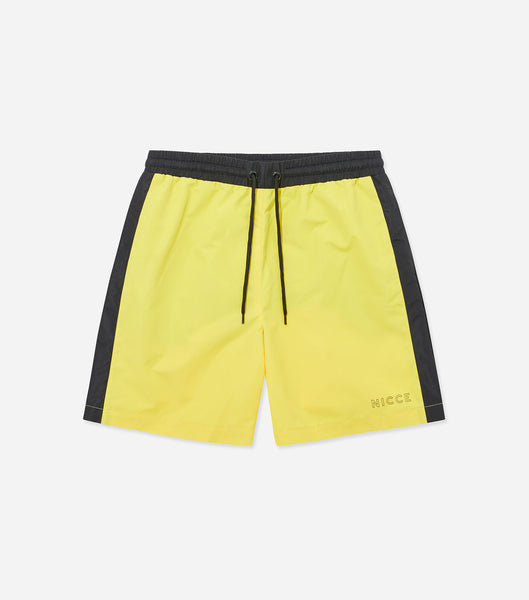 NICCE Mens Byron Swim Shorts | Yellow, Shorts