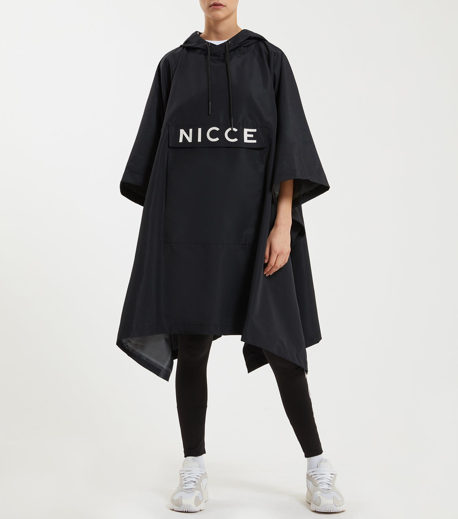 NICCE Womens Poncho | Black, Outerwear