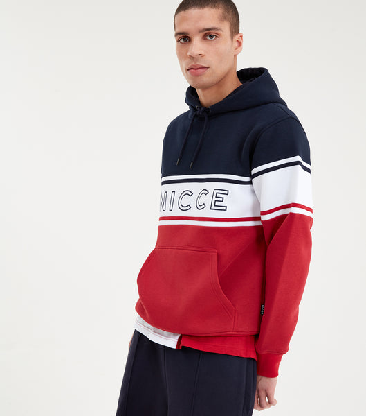NICCE Mens Panel Hood | Navy