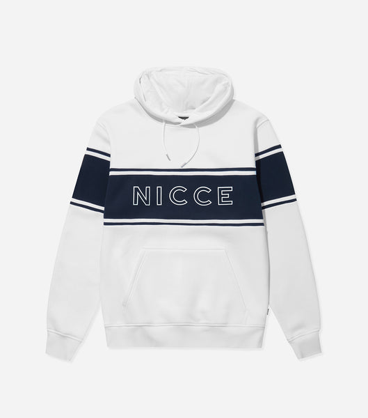 NICCE Mens Panel Hood | Deep Navy, Hoodies