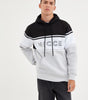 NICCE Mens Panel Hood | Stone Grey, Hoodies
