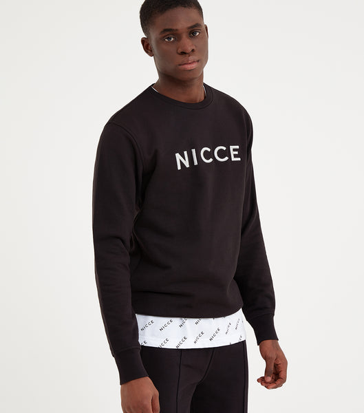 NICCE Mens Lithium Sweat | Black, Sweatshirts