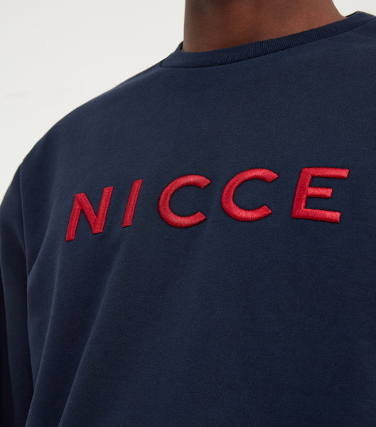 NICCE Mens Lithium Sweat | Navy, Sweatshirts