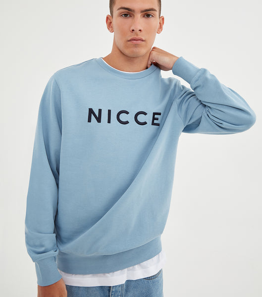 NICCE Mens Lithium Sweat | Blue, Sweatshirts