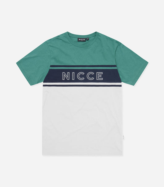 NICCE Mens Panel T-Shirt | North Atlantic, T-Shirts