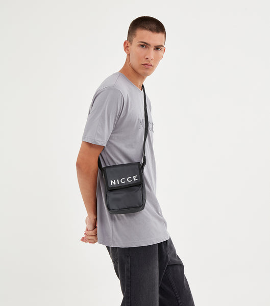 NICCE Mens Mercury T-shirt | Drizzle Grey, T-Shirts
