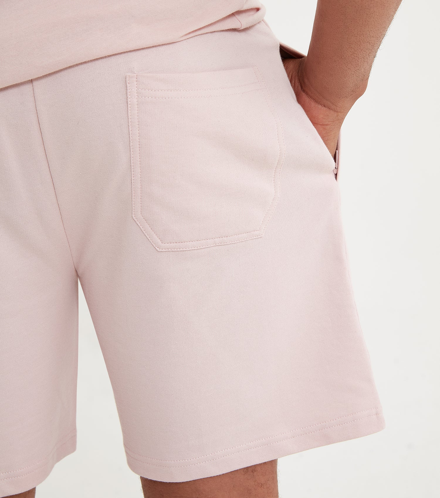 NICCE Mens Steel Shorts | Dirty Pink, Shorts