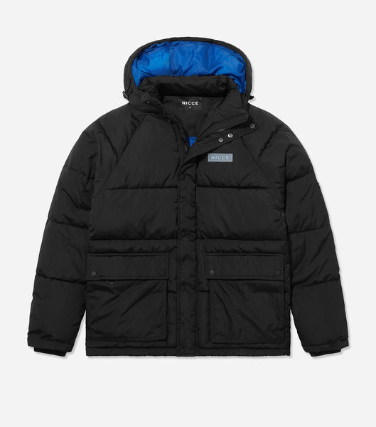NICCE Mens Patrol Jacket | Black