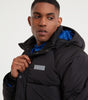 NICCE Mens Patrol Jacket | Black, Outerwear