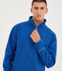 NICCE Mens Adris Half Zip Top | Cobalt Blue, Outerwear