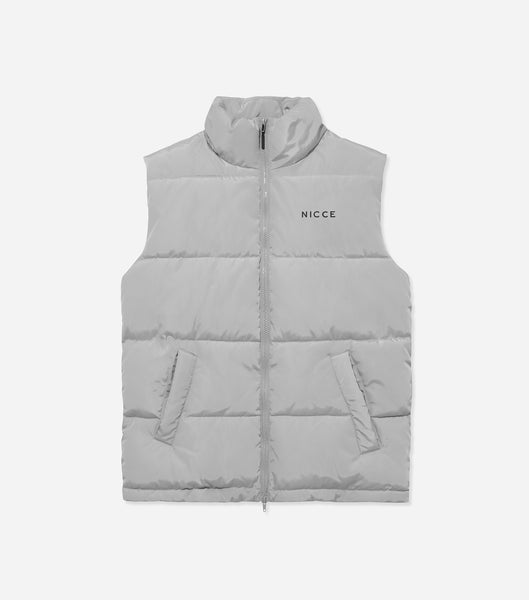 NICCE Mens Deca Gilet | Stone Grey, Outerwear