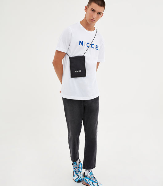 NICCE Mens Rhodium T-Shirt | White, T-Shirts