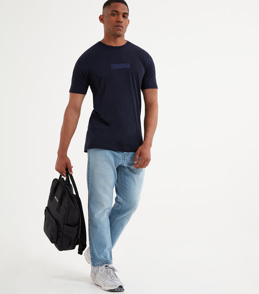 NICCE Mens Crate T-Shirt | Deep Navy, T-Shirts