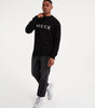 NICCE Mens Original Logo Knit Jumper | Black, Tops