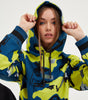NICCE Womens Nitric Camo Hood | Safety Yellow Camo, Hoodies