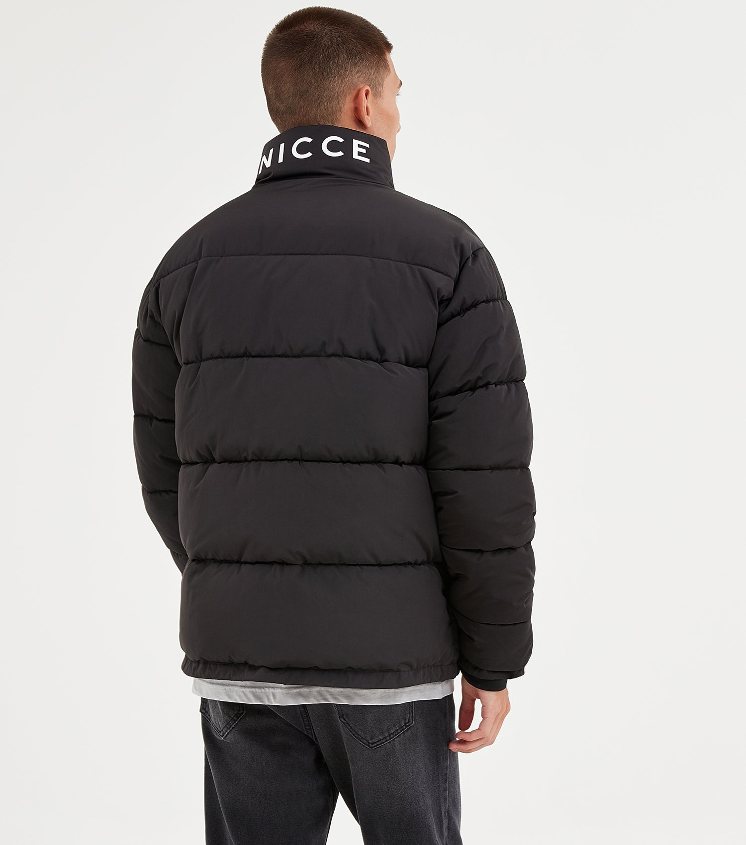 NICCE Mens Deca Jacket | Black, Outerwear