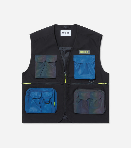 NICCE Womens Strike Vest Jacket | Iridescent