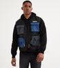NICCE Mens Strike Vest Jacket | Iridescent, Outerwear