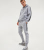 NICCE Mens Trail Star Joggers | Light Grey Marl, Joggers