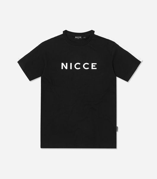 NICCE Mens Trail Star T-Shirt | Black / White, T-Shirts