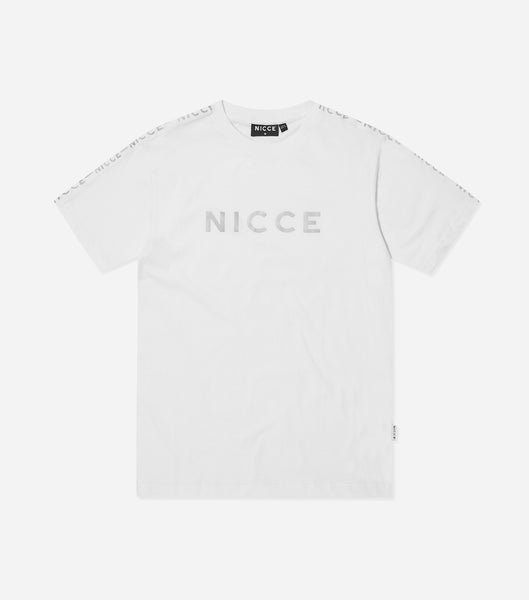 NICCE Mens Trail Star T-Shirt | White, T-Shirts