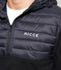 NICCE Mens Tactical Fleece | Black, Outerwear
