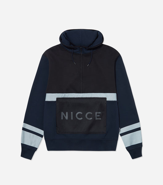 NICCE Mens Vault Hood | Deep Navy, Hoodies