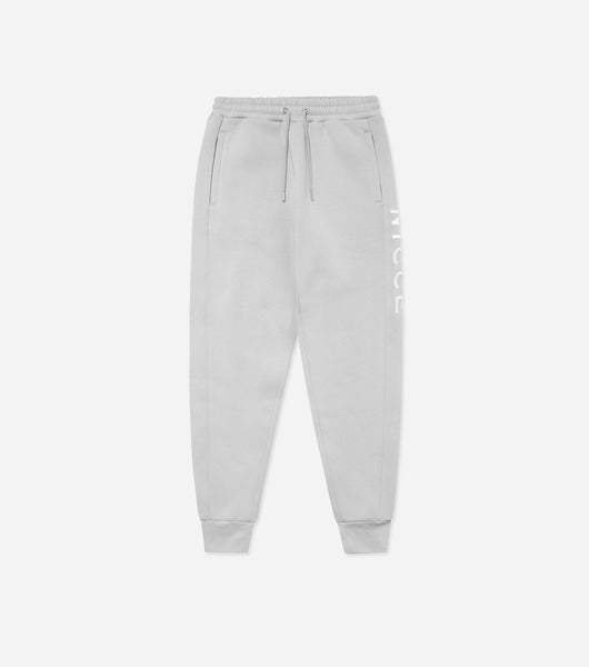 NICCE Mens Rhodium Joggers | Stone Grey, Joggers